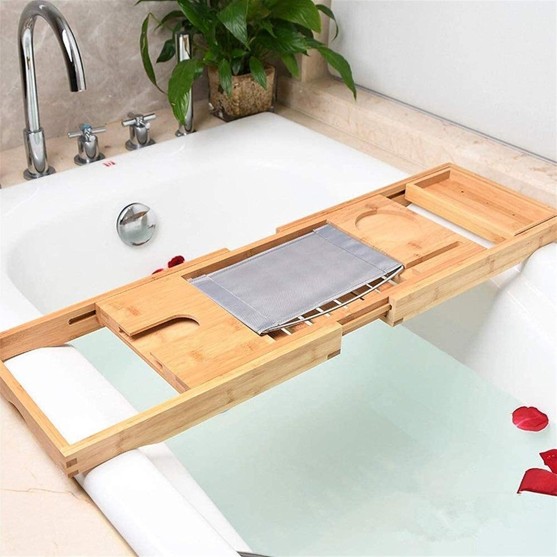 XHLLX Bathtub Rack Bath Shelf Popular standard Trays Bathroom Popular popular Bamboo Tra Tub