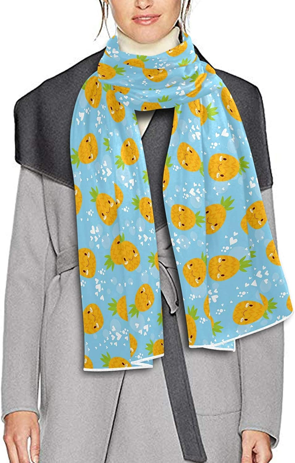 Scarf for Women and Men Pineapple Heart Blanket Shawl Scarves Wraps Soft thick Winter Oversized Scarves Lightweight