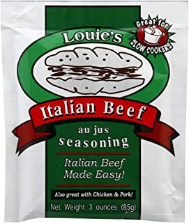 Louie's Italian Beef Seasoning, 3 oz, 3 pk