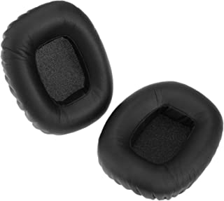 2Pcs Earpads Replacement Black Ear Pads Cushion Kit for J88 J88I J88A Headphones