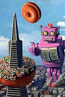 Robot R&R by Eric Joyner Cool Wall Decor Art Print Poster 24x36
