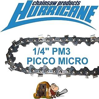 "1x Semi Chisel 1/4"" 043 64DL 71PM3 Chain for 12"" Stihl HTA 85 Battery Chainsaw"