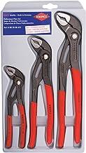KNIPEX Tools - 3 Piece Cobra Pliers Set (7, 10, & 12) (002006US1)