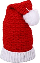KESYOO Christmas Santa Claus Hat Knitted Beanie Caps Winter Warm Headwear for Kids Adult Xmas Holiday Seasonal Costume Acc...