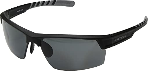 Matte Black/Crystal/Gray Polarized Lens
