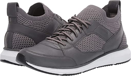 Graphite Washed Leather