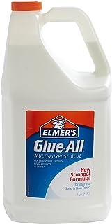 Elmer's 胶水 - 多用途液体胶水,特强,1加仑(3.78L),1件 - 适合修补