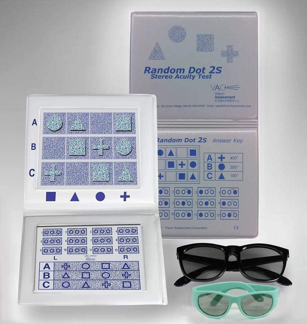 Stereo Random Dot 2S with Test SALENEW very popular Shapes 2021 Standard