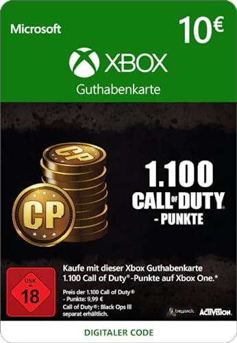 1.000 (+100 Bonus) Call of Duty-Punkte [Spielerweiterung] [Xbox Live Online Code] [PC Code - Kein DRM]