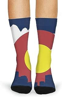 Novelty Casual Crew Socks Funky Socks for Women Fashion Patterned Socks
