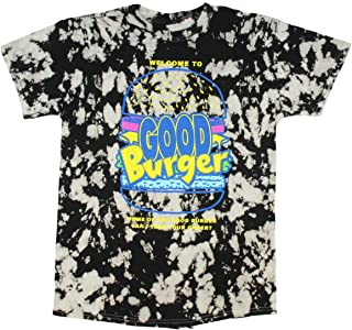 Seven Times Six Nickelodeon Men's Good Burger Can I Take Your Order Tie Dye T-Shirt