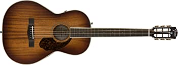 Fender PM-2E Parlor Limited Acoustic-Electric Guitar