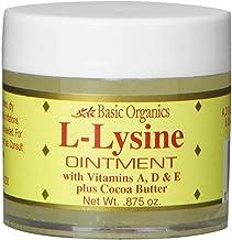 Basic Organics L-Lysine Lip Ointment, 0.875 oz
