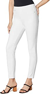 Liverpool Women's Chloe Pull-On Ankle Skinny in Bright White