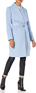 Best blue wool wrap coat Reviews