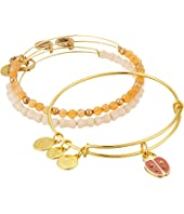 Alex and Ani - Cosmic Messages - Ladybug Set of 3 Charm Bangle