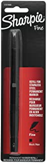 Sharpie 1751000 Stainless Steel Fine Point Refill, Black