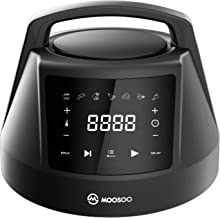 MOOSOO 6 QT Air Fryer Lid for Instant Pot with 7 Optional Presets, Turn Your Electric Pressure Cooker Into Air Fryer in Seconds, 95% Less Oil Crisplid with Digital LED Display & IMD Touch Panel