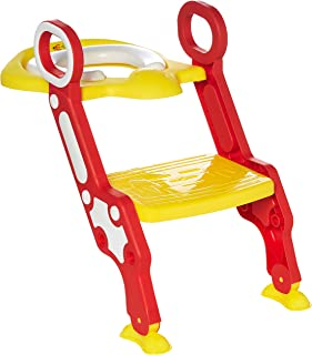 Eazy Kids Potty Training Seat | Toddler Toilet Seat | Step Stool Ladder | Training Toilet for Kids Boys Girls | Toddlers |...