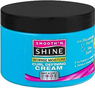 Smooth N Shine Polishing Intense Moisture Curl Defining Cream, 10.5 Ounce