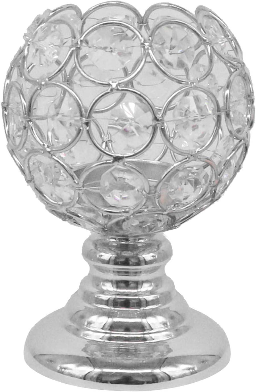 #N Sale item A Crystal Candelabra Max 40% OFF Taper Candle Holder Candlesticks Modern