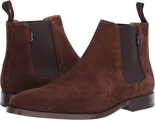 Paul Smith Gerald Leather Chelsea Boot Black | END.
