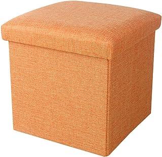 YunNasi Boîte de rangement pliable avec couvercle - Panier de rangement en tissu - Pour dortoir, bureau et maison - Taille...