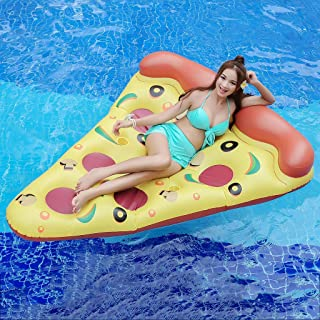 cnnIUHA Backrest Seated Row Luxury Inflatable Floating Row Pool,Kids and Adult Swimming Inflatable Portable Pool Float Bed Swimming Pool Inflatable Seat Summer Water Floating Toys