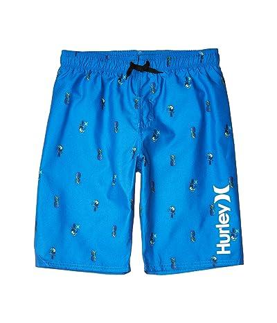Hurley Kids Pineapple/Toucan Pull-On Boardshorts (Big Kids)