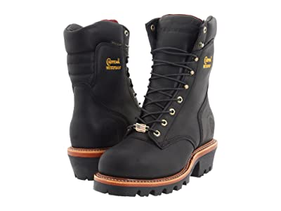 Chippewa 9 Waterproof Insulated Super Logger (Black Oiled) Men