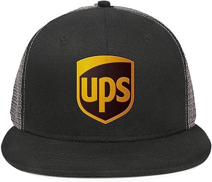 bcc5026e SDHAK United-Parcel-Service-UPS-Symbol-Logo- Flat Bill Trucker