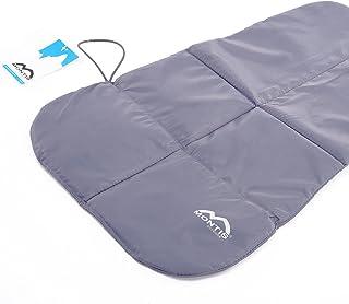 MONTIS MAT, rullmatta, matta för barnbärare, vikbar, ultralätt, 60 x 39 cm