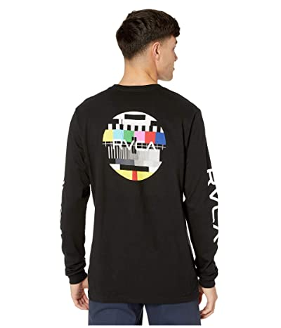 RVCA Testing Long Sleeve (Black) Men