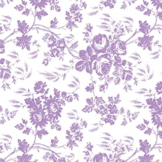 Con-Tact Brand Creative Covering Self-Adhesive Shelf and Drawer Liner, 18-Inches by 9-Feet, Toile Lavender, 18''x9