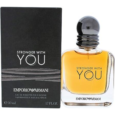 Emporio Armani Stronger With You for Men Eau de Toilette Spray, 1.7 oz