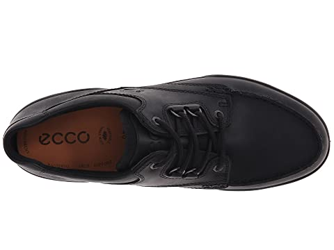 ECCO Track Bison Leather Bison II Low NubuckBlack 44BrnZF