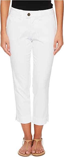 Jag Jeans Petite - Petite Creston Ankle Crop in Bay Twill