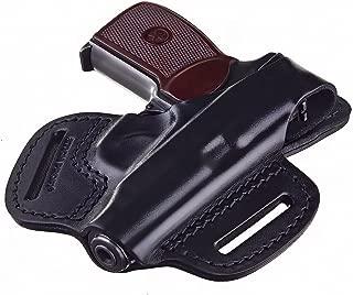 STICH PROFI Makarov OWB gun holster, genuine leather, RH, black