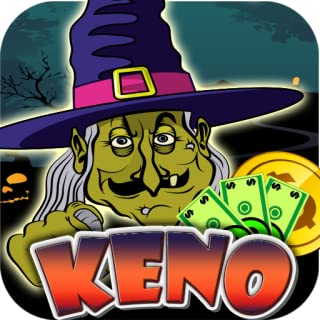 Keno Castle Spells Potions Magic Halloween Witch Keno Games Free for Kindle Original Keno for Kindle Play Offline without internet no wifi Full Version Free Keno Daubers