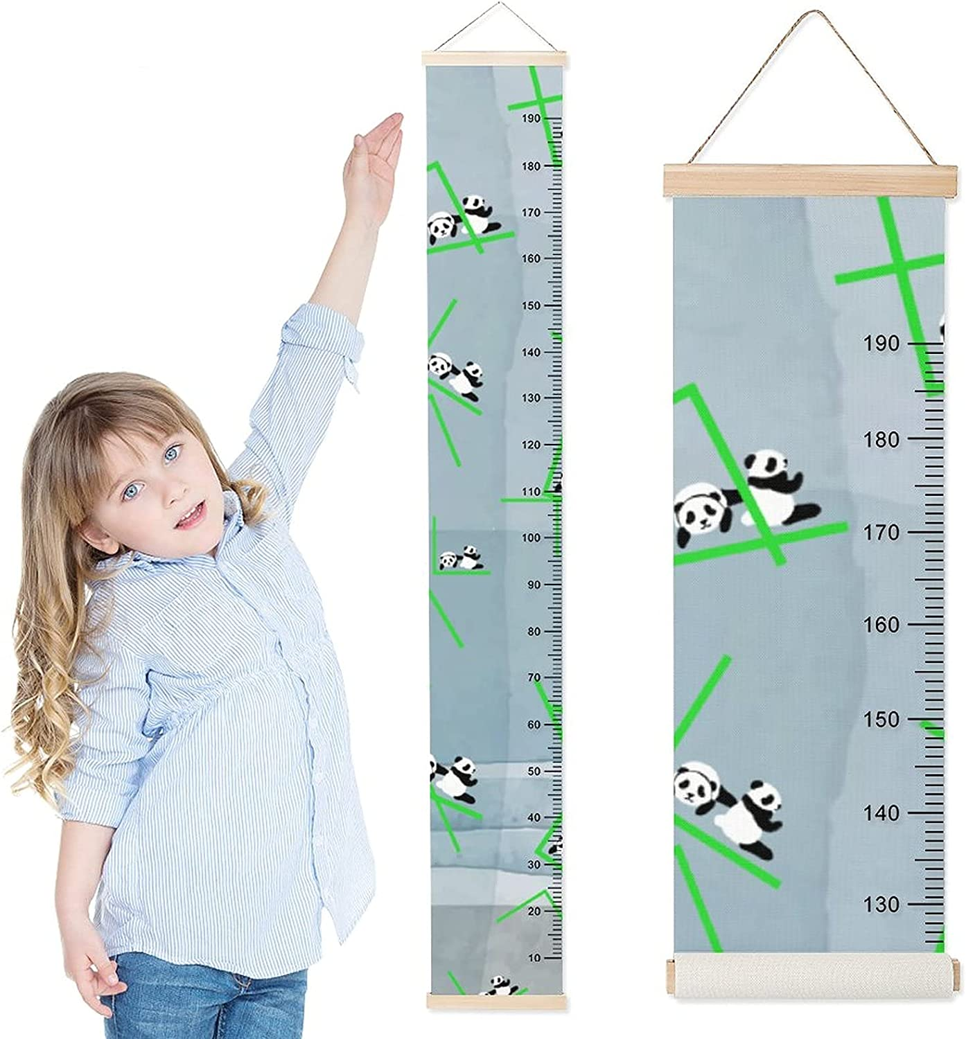 DKISEE Quality inspection Baby Growth Chart Child f Max 55% OFF Wall Height Hanging Ruler