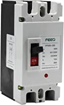 FEEO Plastic 160A DC Double Pole MCCB for Solar and Other DC Applications (White)