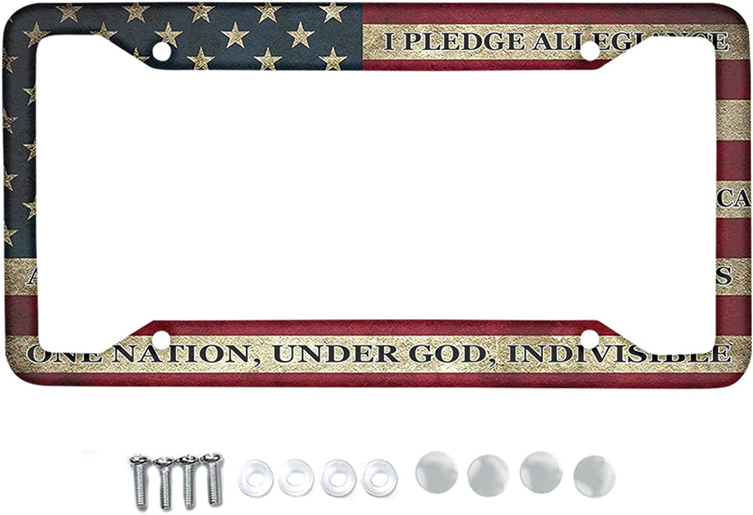 Recommended HUGS IDEA Auto Decorative Frames New mail order Retro American Pattern Met Flag