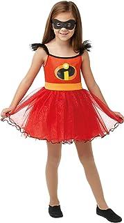 Rubies Superhero Costumes For Girls, 3-4 Years, Red