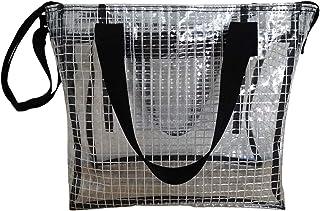 cdhgsh Antistatische PVC-Umhängetasche Messenger Satchel Handtasche für Teenager-Mädchen Umhängetasche Transparent