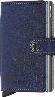SECRID Mens Mini-wallet Indigo 5-Titanium