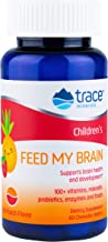 Trace Minerals Feed My Brain Wafers for Children, 60 Count