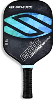 Selkirk Prime Series Pickleball Paddle - USAPA Approved - X4 Polypropylene Core - FiberFlex Fiberglass Face - 2 Sizes: Epic and S2 Pickleball Racket/Racquet.