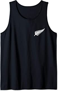 New Zealand NZ Kiwi Rugby Football Silver Fern Gift Tank Top