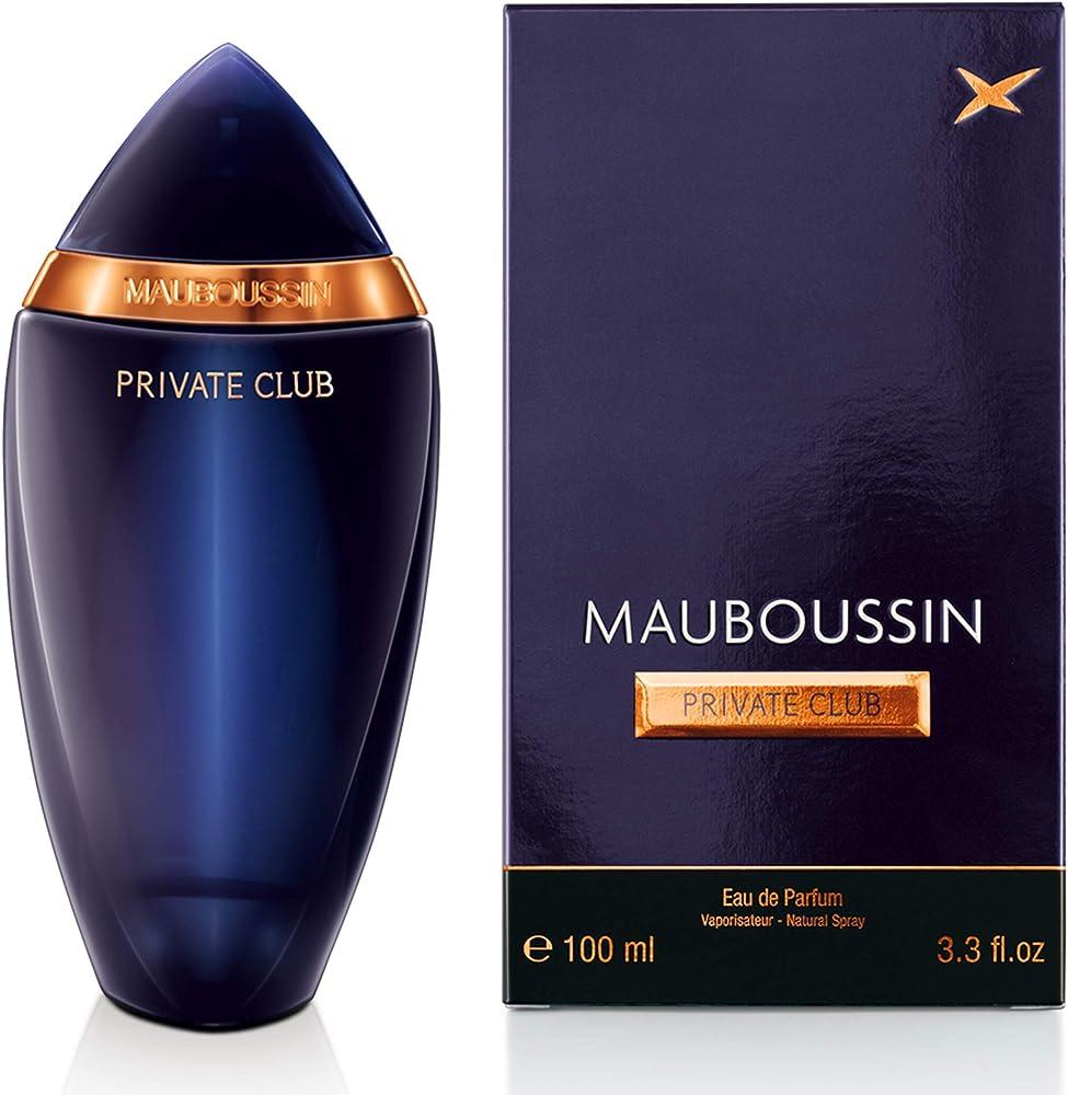Mauboussin private club,eau de parfum,profumo da  da uomo,120 ml MBCAT090