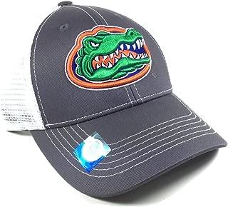 Grey Ghost Florida Gators Mesh Trucker Snapback